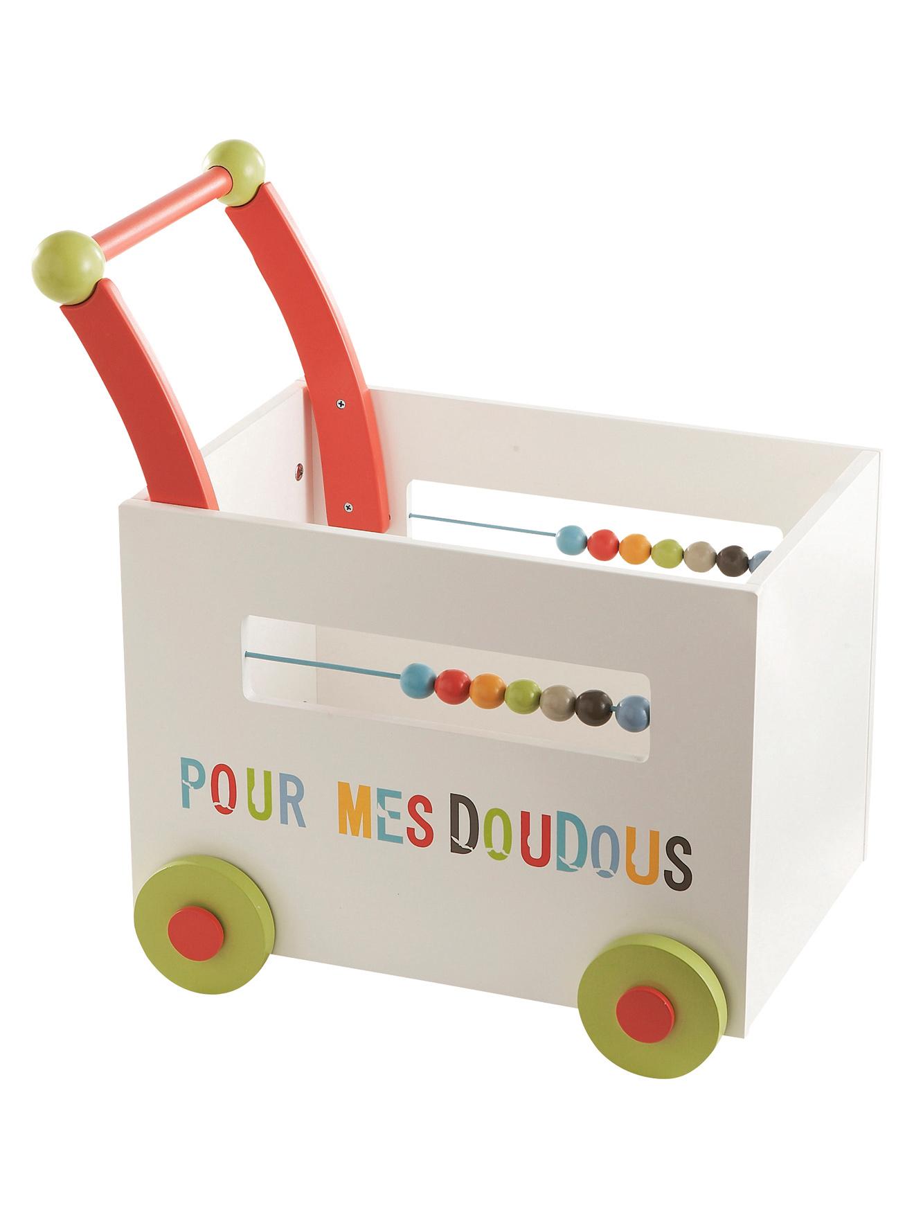 photo en gros chariot de jouets roulettes. Black Bedroom Furniture Sets. Home Design Ideas